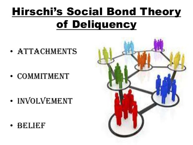 ?social bond theory essay Social bond and control theory: discuss hirschi's social bond and control theory in detail custom essay.