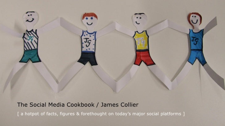 The Social Media Cookbook / James Collier [ a hotpot of facts, figures & forethought on today's major social platforms ]