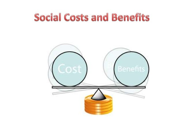 Social costs and benefits