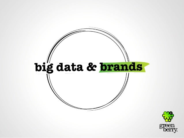 1.big data...big deal...