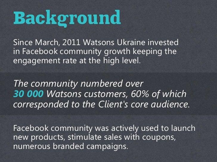 Social CRM Watsons Club + (Eng) Slide 3