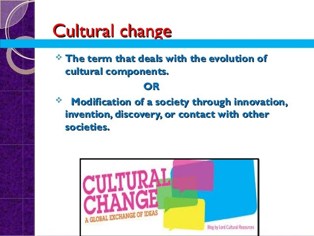 how to achieve cultural change
