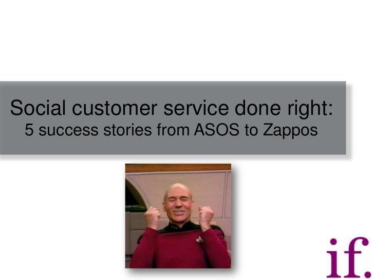 Social customer service done right: 5 success stories from ASOS to Zappos