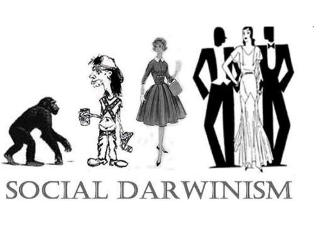 relationship between eugenics and social darwinism history