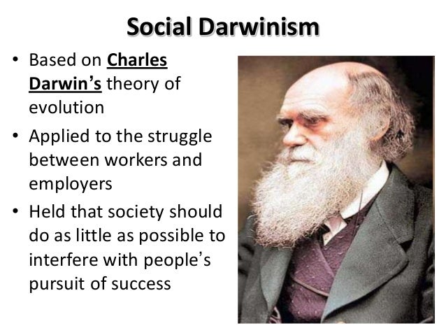 Darwinism: An important Device with Society?