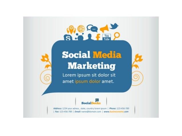 SocialDecks Powerpoint Template