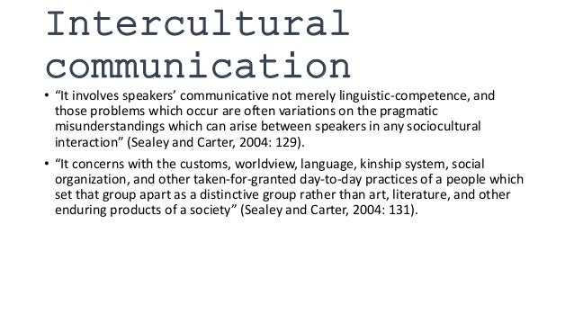 intercultural communication in the terminal 2004 Part of theinternational and intercultural communication  (2011) crosstalk 20: asylum and communicative breakdowns  be customer stressed the terminal word in .