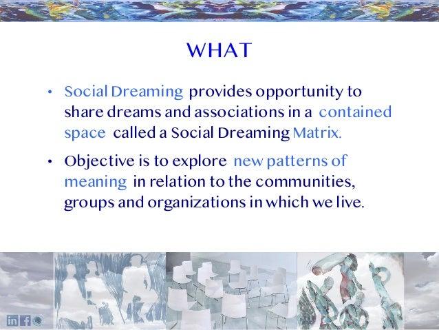 Social Dreaming Overview Slide 2