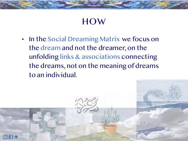 Social Dreaming Overview Slide 3