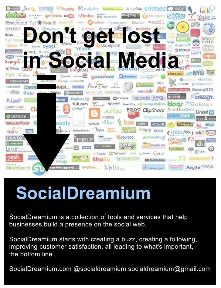 SocialDreamium is a collection of tools and services that help businesses build a presence on the social web. SocialDreami...