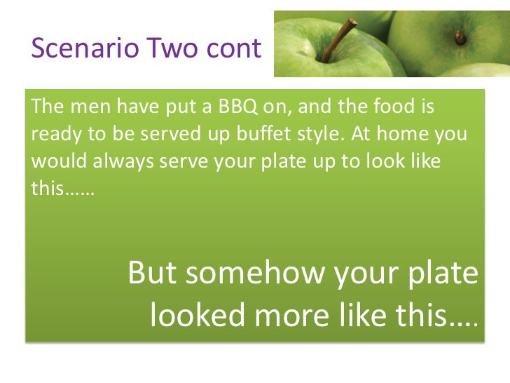 Scenario Four  You are out to dinner at a local Indian restaurant  with your partner and another couple. You order     som...