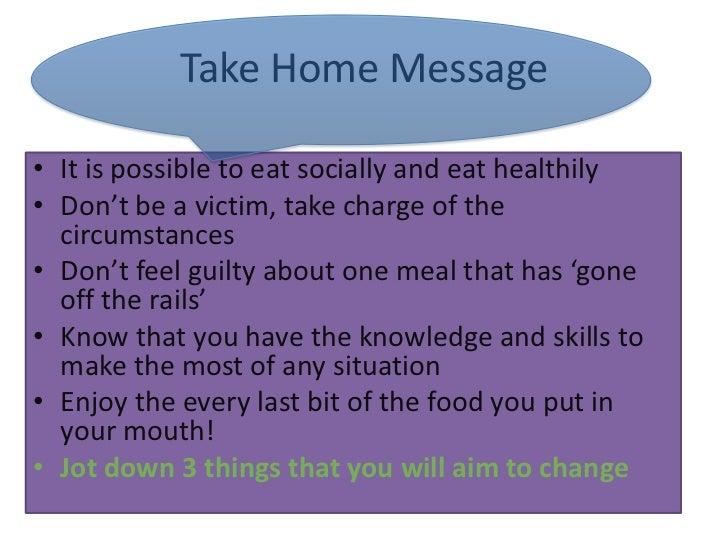 Social Eating Strategies
