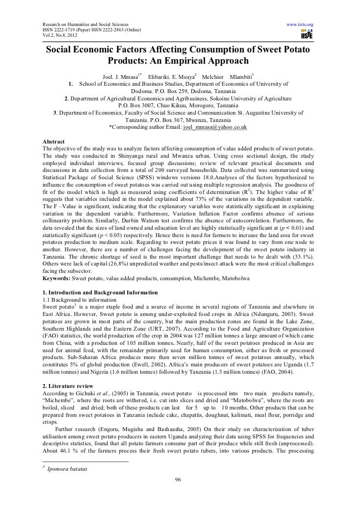 Research on Humanities and Social Sciences                                                                www.iiste.orgISS...