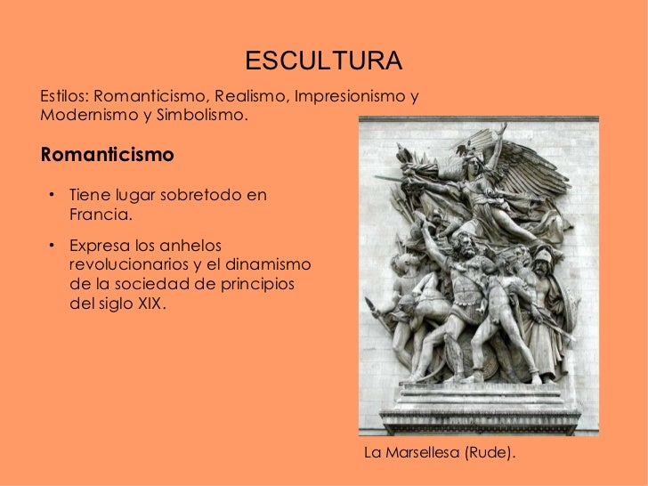Arquitectura y escultura del siglo xix for 5 tecnicas de la arquitectura