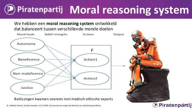 Cars that make ethical decisions Dr. Matthijs Pontier, Sociale Innovatie, 16-12-2016, Hoe kunnen we zorgen dat iedereen va...