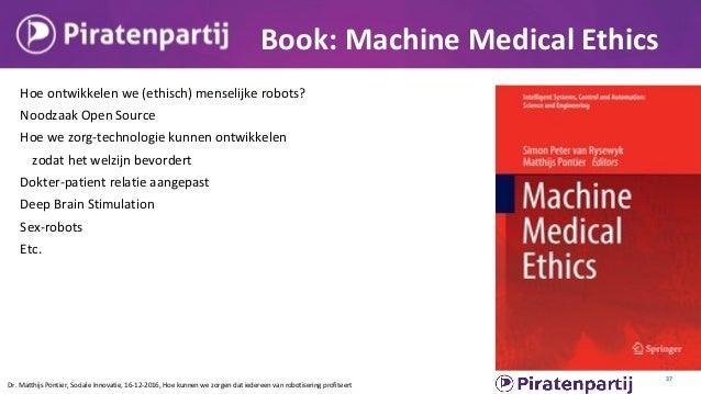 citizens.is Better Alamance Dr. Matthijs Pontier, Sociale Innovatie, 16-12-2016, Hoe kunnen we zorgen dat iedereen van rob...