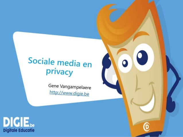 Gene Vangampelaere Technologie adviseur // Microsoft Innovative Educator Expert http://www.digie.be E-mail: gene@digie.be ...