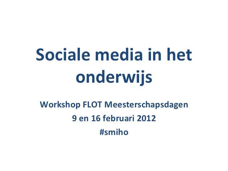 Sociale media FLOT