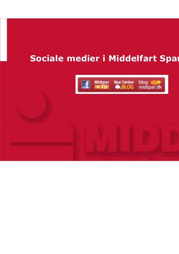 Sociale medier i Middelfart Sparekasse