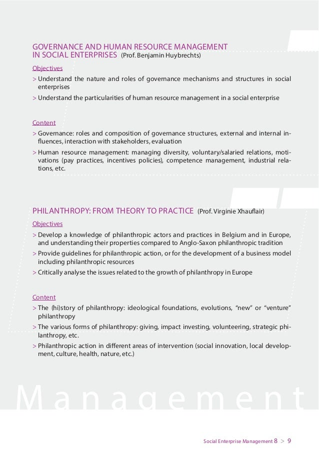 0e98353f Brochure Master in Social Enterprise Management 2016