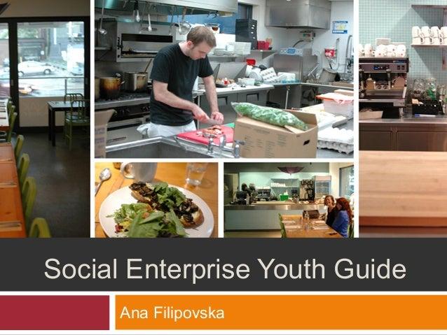 Social Enterprise Youth Guide Ana Filipovska