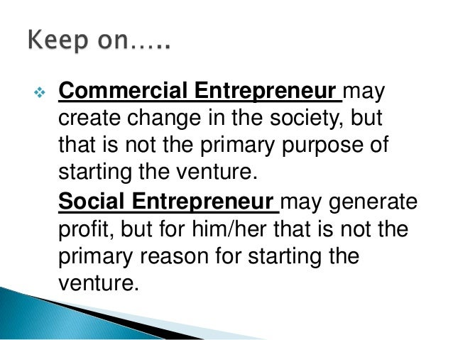 Social enterpreneurship ppt