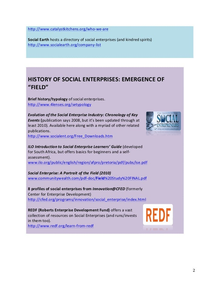 Social enterprise webinar resource guide final2