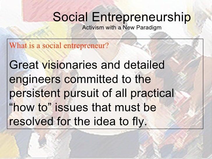 What makes a good entrepreneur Essay