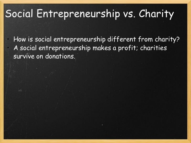 social entrepreneurship profit making A model of social entrepreneurship focused on market-based solutions and profit is threatening to crowd out more collaborative approaches.