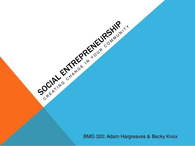 BMG 320: Adam Hargreaves & Becky Knox