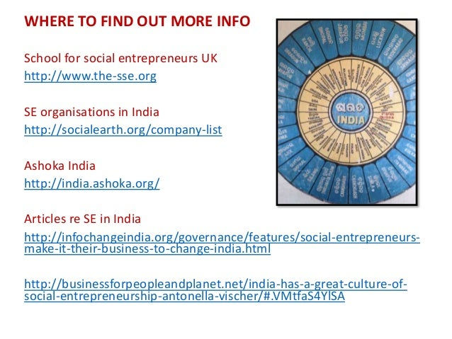 An introduction to Social Entrepreneurship workshop presented by St…