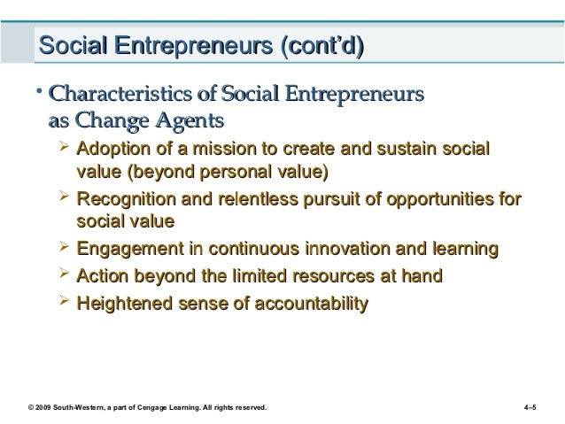 Social entrepreneurship and the ethical challenges of