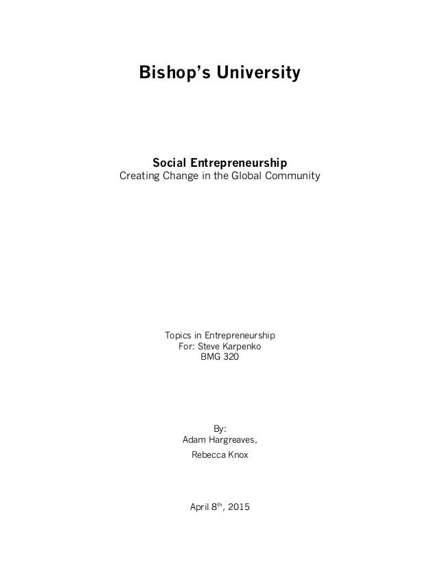 entreprenuership research papers