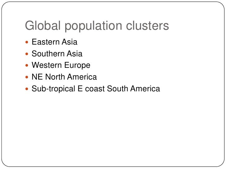 factors influencing population distribution and density in southern africa Physical and human factors affecting population distribution at the global scale a global population density maps  study the world maps showing population density/distribution and comment on the effects of a) latitude b) altitude explain the patterns you identify.