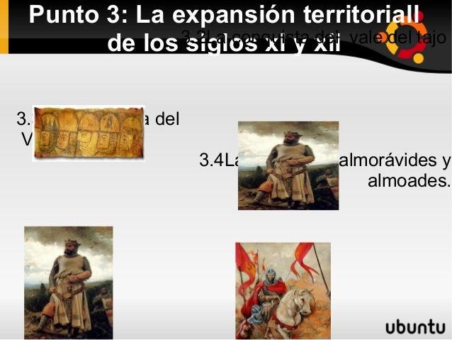 3.1 EL sistema de Parias. Punto 3: La expansión territoriall              3.2La conquista xii vale del tajo       de los s...
