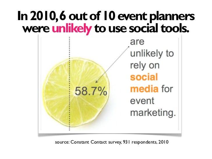 Social Media for Event Marketing Slide 2