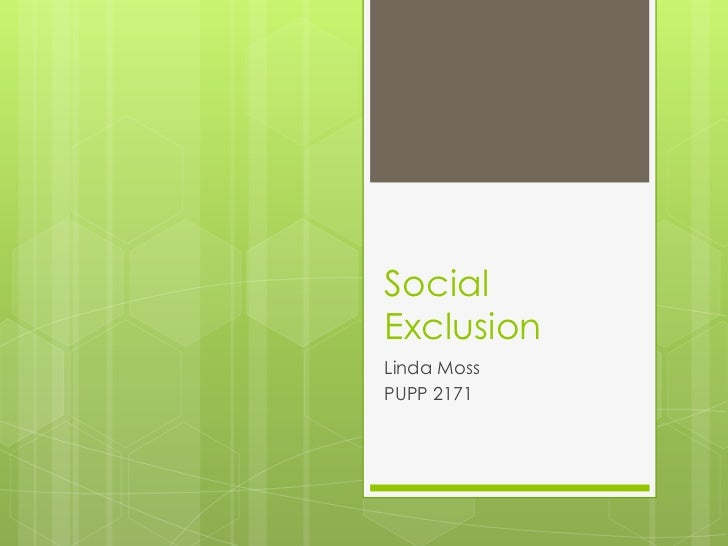 Social Exclusion in Later Life: A Systematic Review of the Literature