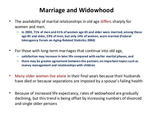 factors affecting marriage
