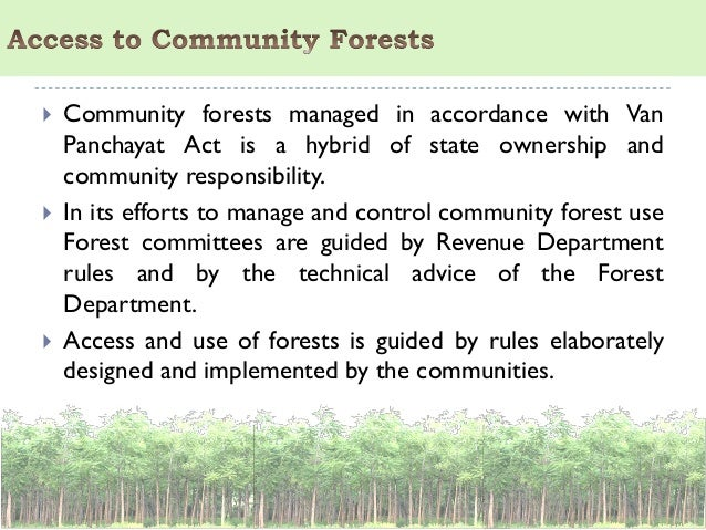 Forest laws in india pdf