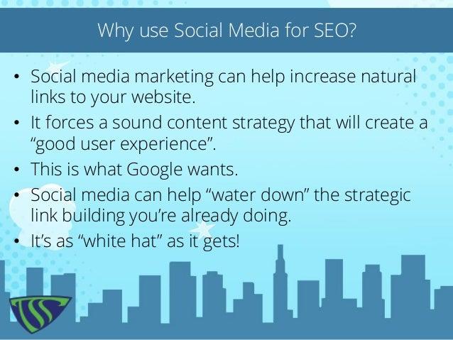 The Social Savior - SEO results from SOCIAL Marketing Slide 2