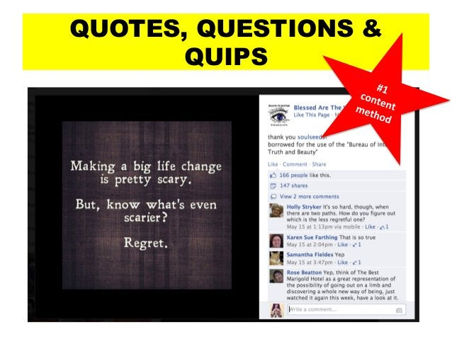 QUOTES, QUESTIONS & QUIPS