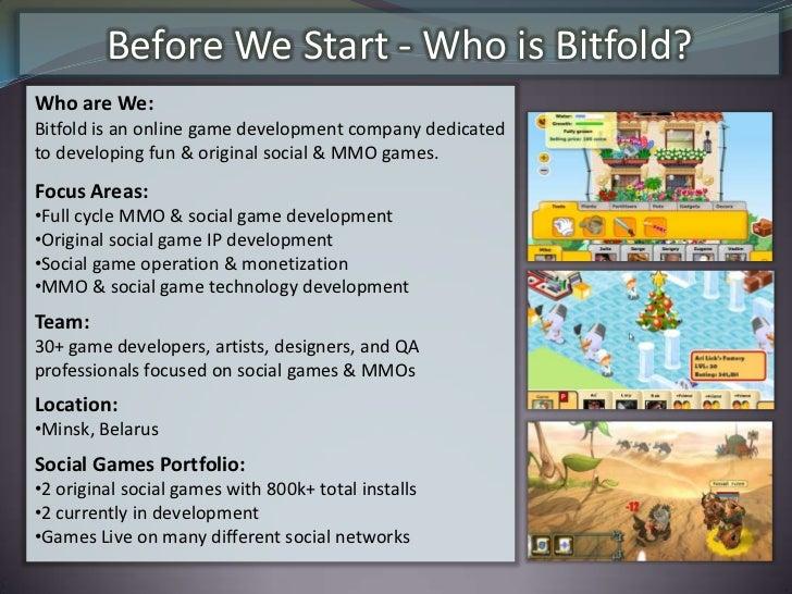 Social & Facebook game space at a glance Slide 3