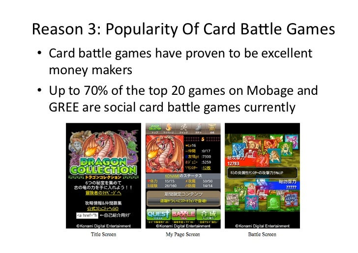 Reason3:PopularityOfCardBaaleGames• Cardbaalegameshaveproventobeexcellent   moneymakers• Upto70%oft...