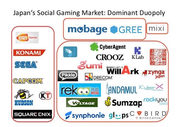 Japan'sSocialGamingMarket:DominantDuopoly