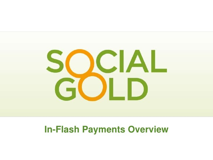 In-Flash Payments Overview          January 2010