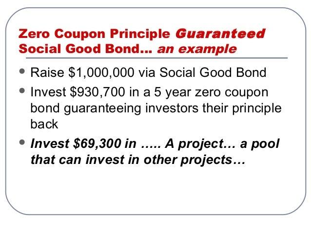Zero coupon bond practice problems