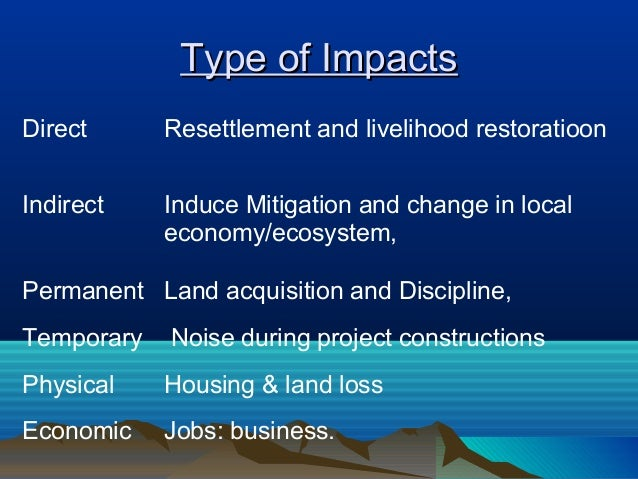 assessment of social impacts on local Economic impacts of climate change at household level and  inexistent or inefficient social protection  a framework for the assessment of impacts resulting .