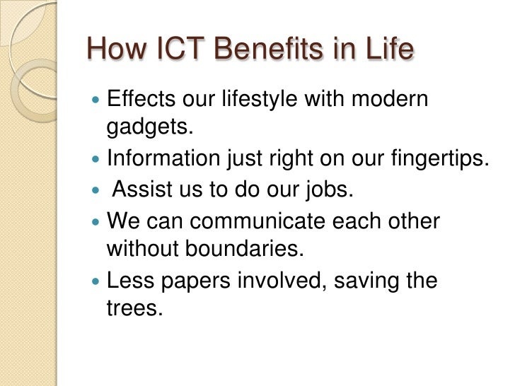 social impact of ict wikipedia