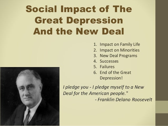 the new deal the depression and When franklin delano roosevelt took office in 1933, he enacted a range of experimental programs to combat the great depression.