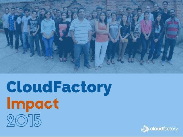 CloudFactory Impact 2015